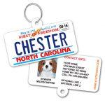 north carolina license plate id tag 1