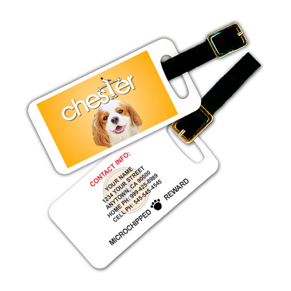 Doggly Glee Parody Pet Luggage Tag