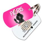 Doggly Glee Parody Pet ID Tag