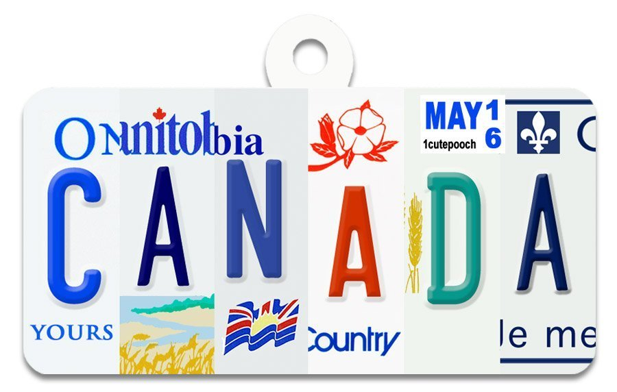 Canadian License Plates Category Pic