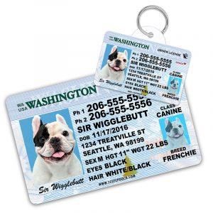 washington driver license pet id tag 800