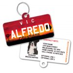 Victoria Number Plate Pet ID Tag